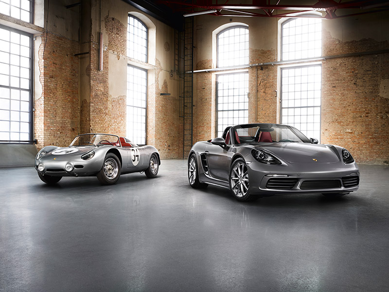 Porsche The new 718 Boxster - Idea 718