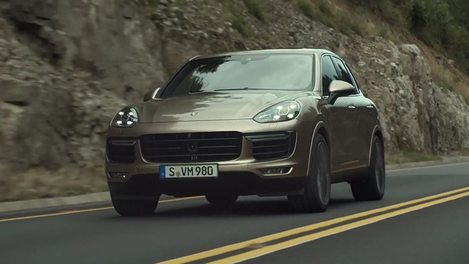Porsche - Operating your Cayenne