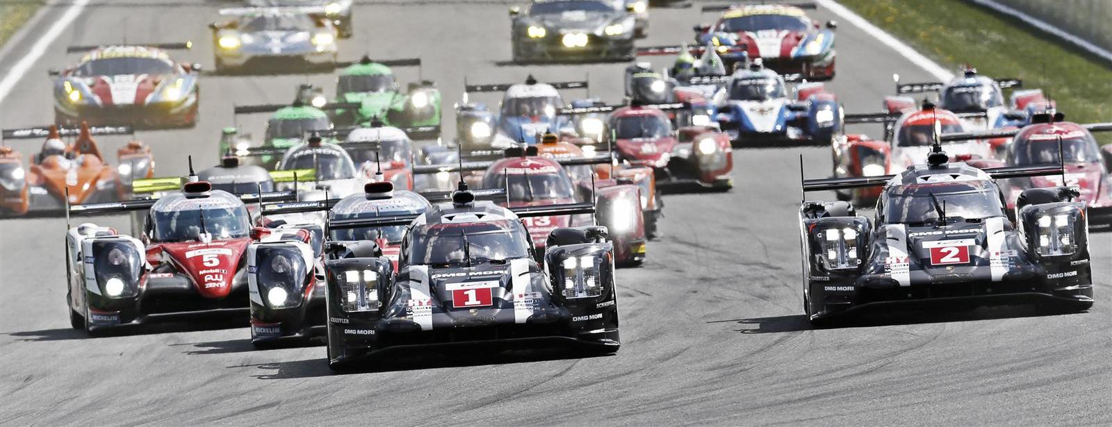 Porsche - Thriller - FIA WEC 6h of Spa-Francorchamps 2016