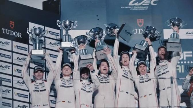 Porsche - 6 Hours of Shanghai - Race