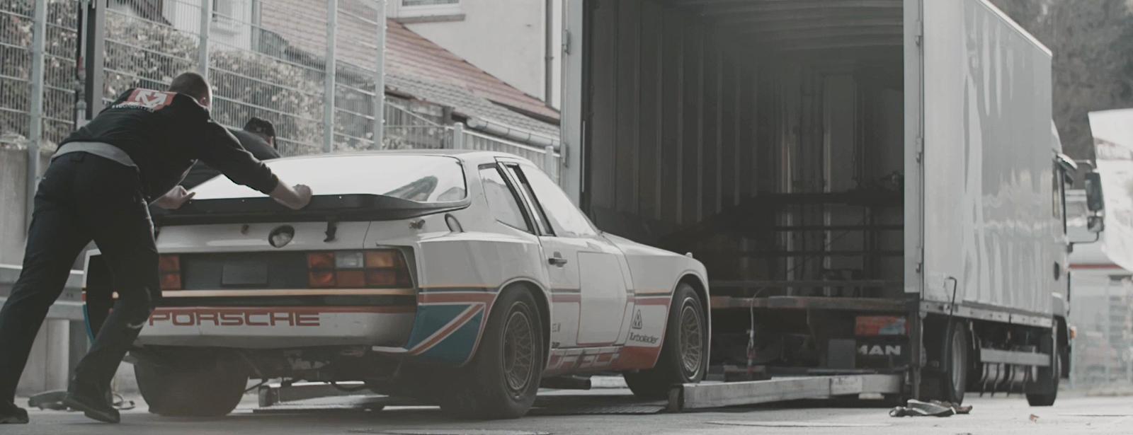 Porsche Cars GB - 924 GTP Restoration