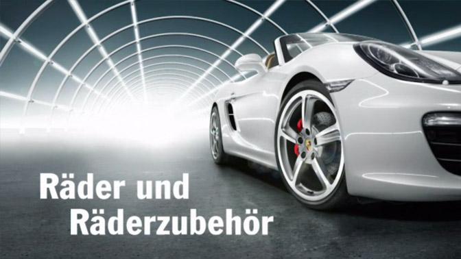 Porsche Tequipment - Räder und Räderzubehör