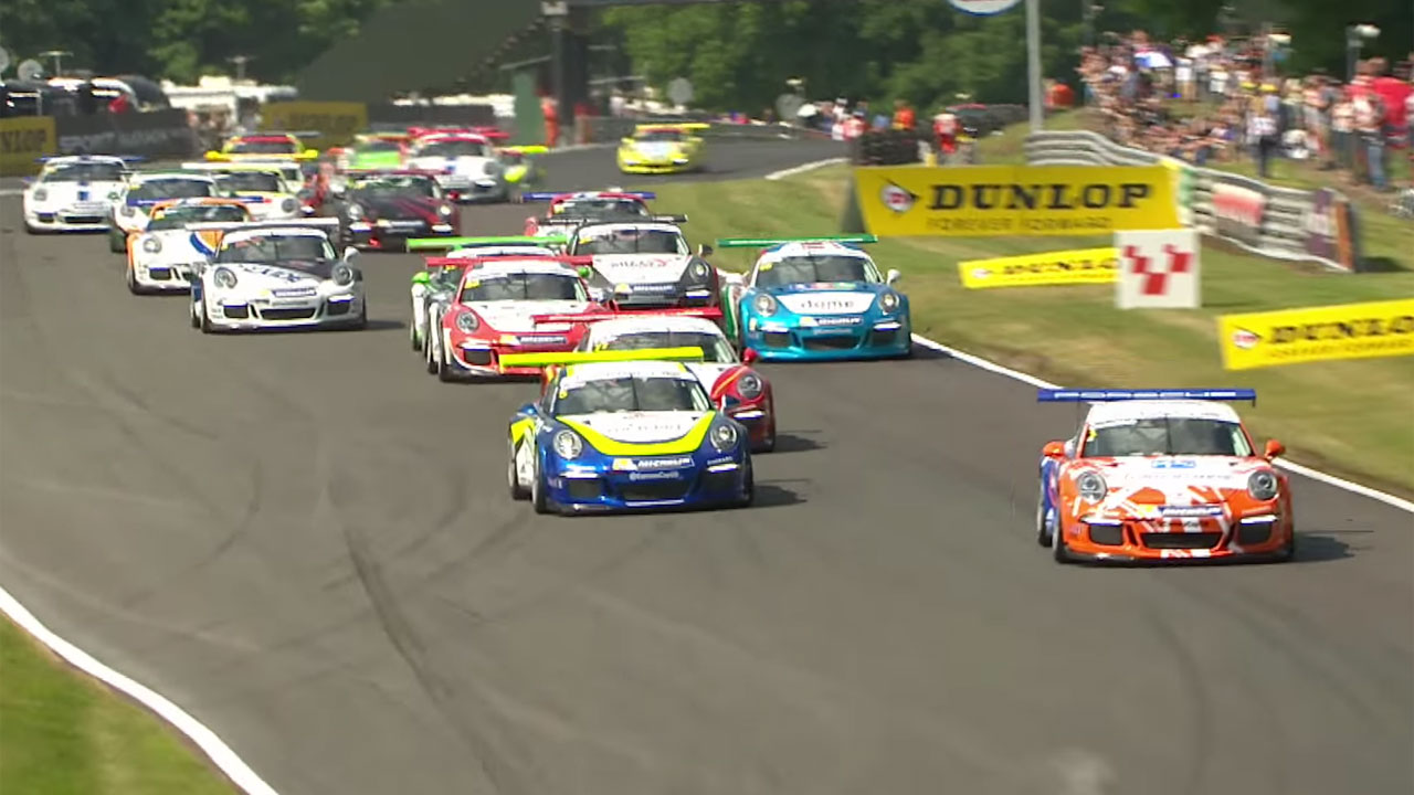 Porsche - Oulton Park Highlights