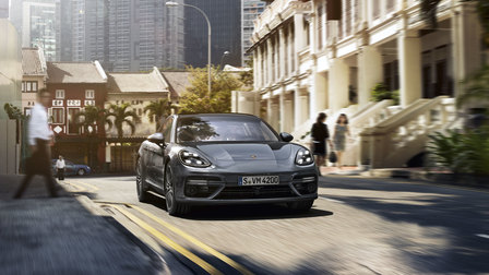Porsche The new Panamera Turbo